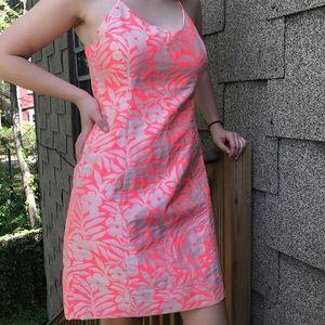 J.crew summer dress pink floral fancy halter 2